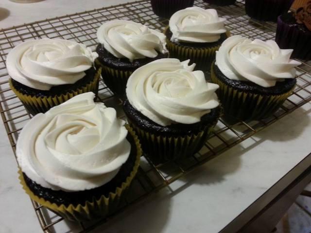 Chocolate Midnight Cupcakes