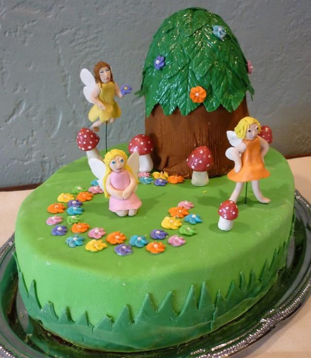 Large Fairy Cake